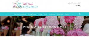 NC Vows Wedding Officiant in Greensboro and surrounding areas