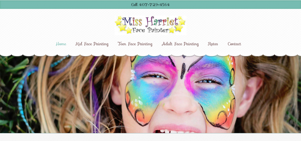 Orlando Facepainting Website
