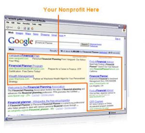 google adwords grants for non profits