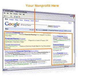 google adwords grants for non profits